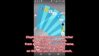 [Quick Arc Launcher 2] Sub launcher introduction video screenshot 2