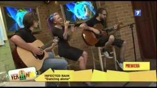 Infected Rain - Dancing Alone acoustic live @ Veranda Jurnal TV [2014]