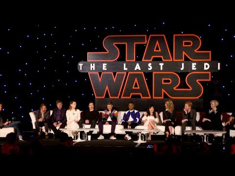 'Star Wars: The Last Jedi' - Full Press Conference - Daisy Ridley, John Boyega, Adam Driver & More