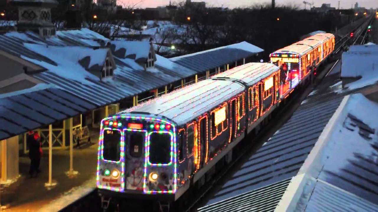 happy holidays from the cta 2013 youtube - Christmas Train Chicago
