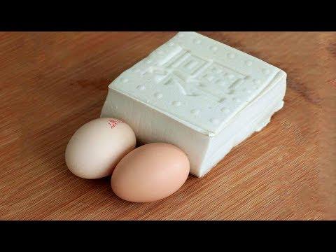 豆腐不要煎著吃了,加2個雞蛋這樣做,早餐3分鐘就出鍋,太好吃了【夏媽廚房】