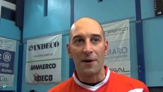 25-01-2015: Marco Piscopo nel post Molfetta-Trento