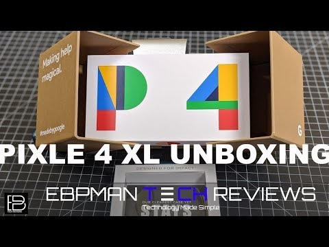 NEW Google Pixel 4 XL Unboxing & First Impressions   Speck Presidio Clear #teampixel #giftfromgoogle