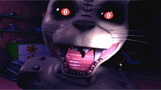 MONSTER CAT JUMPSCARE!! Five Nights at Candy's 3