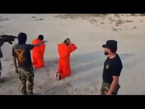 شاهد.. وحدة عسكرية لحفتر تعدم 20 مشتبا بهم رميا بالرصاص  - نشر قبل 2 ساعة