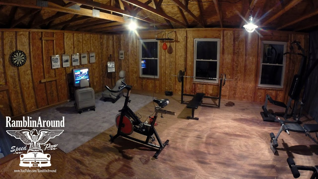 New home gym setup weight training and boxing equipment youtube