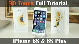 3D Touch for iPhone 6S Full Tutorial: Peek, Pop, Quick Actions, and More!
