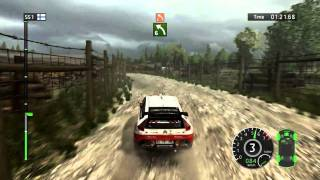 WRC FIA 2010 World Rally Championship (PC): DEMO Gameplay [HD]