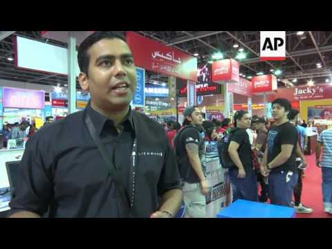 New tech trends at Dubai consumer electronics show