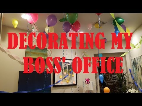 Ideas To Decorate An Office For Birthday from i.ytimg.com