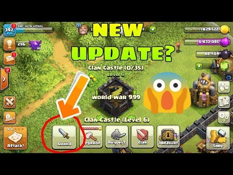 New Clan Castle Update 😱!!? Concept Clash Of Clans
