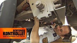 LKW Kontrolle: LKW-Bremsen funktionieren nicht richtig! | Achtung Kontrolle | kabel eins