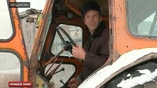Большое хозяйство в Булдаково -- на попечении безногого фермера
