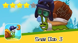 Snail Bob 3 Level 6-9 Walkthrough Beyond The Sky Recommend index four stars