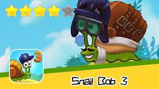 Snail Bob 3 Level 6-9 Walkthrough Beyond The Sky Recommend index four stars