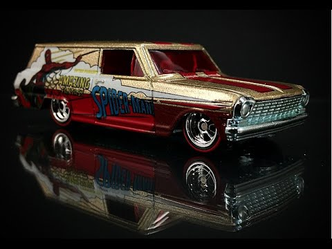 Hot wheels 2015 marvel pop culture review youtube for 9 salon hot wheels 2016