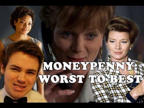 Moneypenny Rankings: Worst to Best