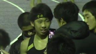 世田谷記録会  男子5000m15組 (2016.4.2) 遠藤日向 田村和希 中村祐紀