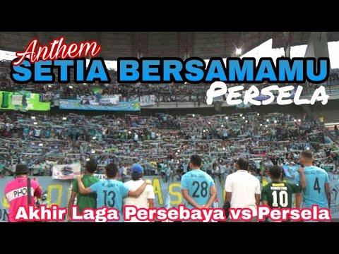Merinding.!Ribuan Persela Fans aksi Viking Clap dan Nyanyikan Anthem ini | Persebaya vs Persela, GBT