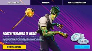 NEW Fortnitemares Challenges & Rewards