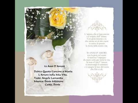 Poesie Anniversario Matrimonio.50 Anni D Amore