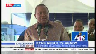 President Uhuru: KCPE results ready and to be released soon