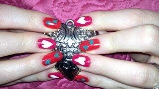 Valentines Day Nails Thumbnail