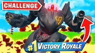 BRUTE MECH *ONLY* Challenge in Fortnite!