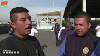 كافيهفن و منوعات  شرطة المكسيك تتدرب على يد أبطال المصارعة