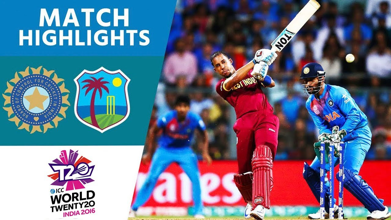 Simmons & Russell Upset Hosts! | India vs West Indies | ICC Men's #WT20 Semi-Final 2016 - H