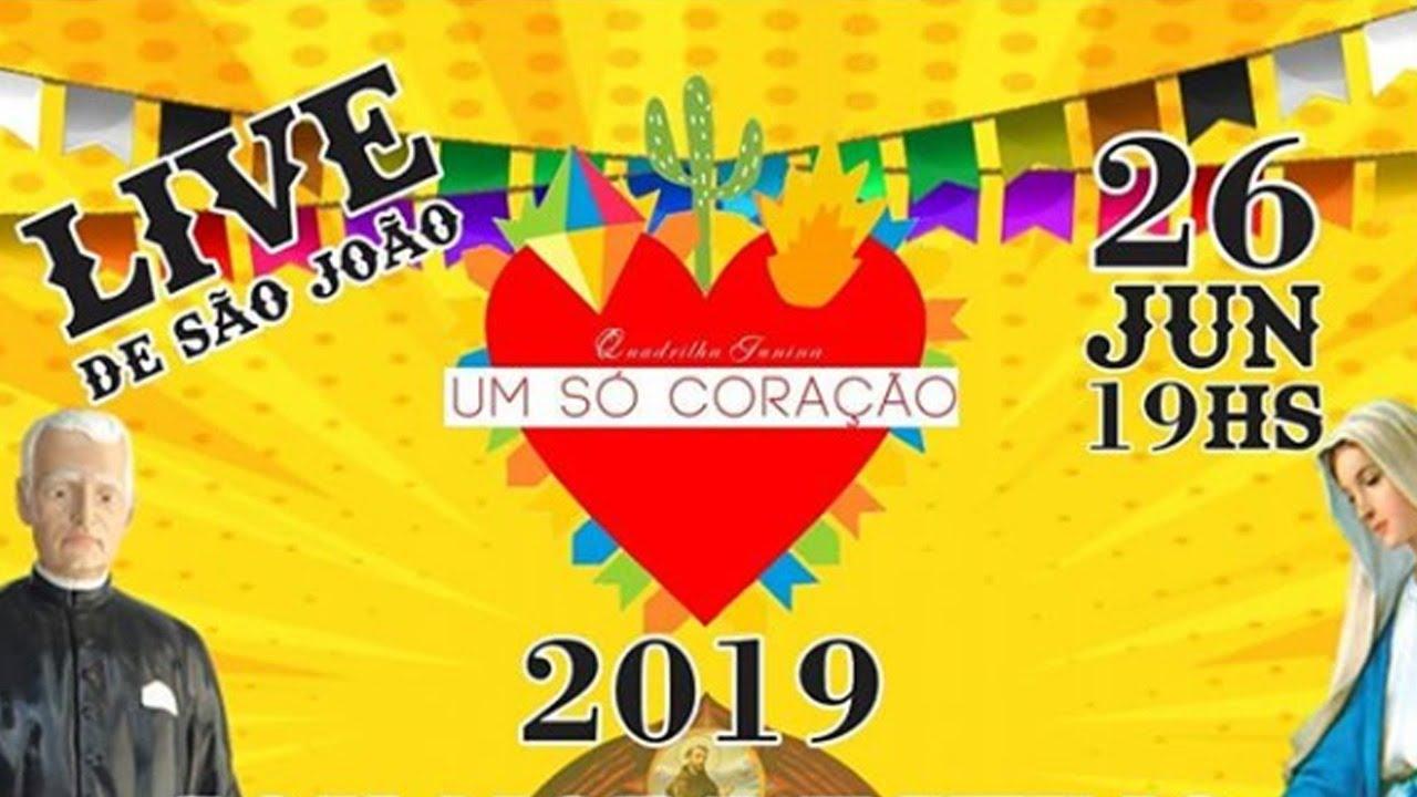 LIVE DE SÃO JOÃO - QUADRILHA JUNINA UM SÓ CORAÇÃO