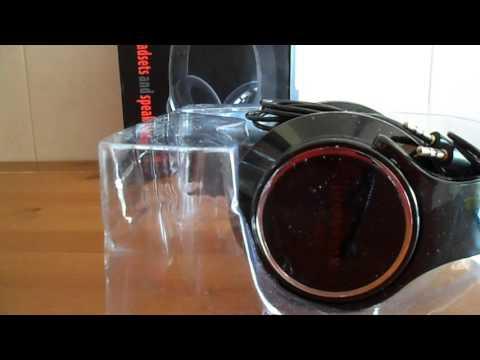 Unbox Headphones Wireless Bluetooth H-666 com microfone e Função FM - PT- Gearbest
