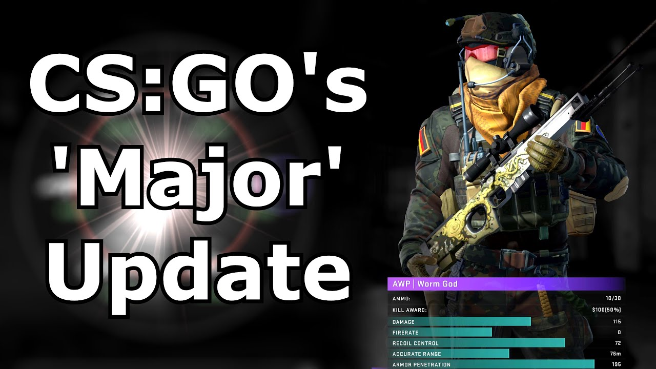 CS:GO's 'Major' Update - New buy menu, crosshair config, Patches etc thumbnail