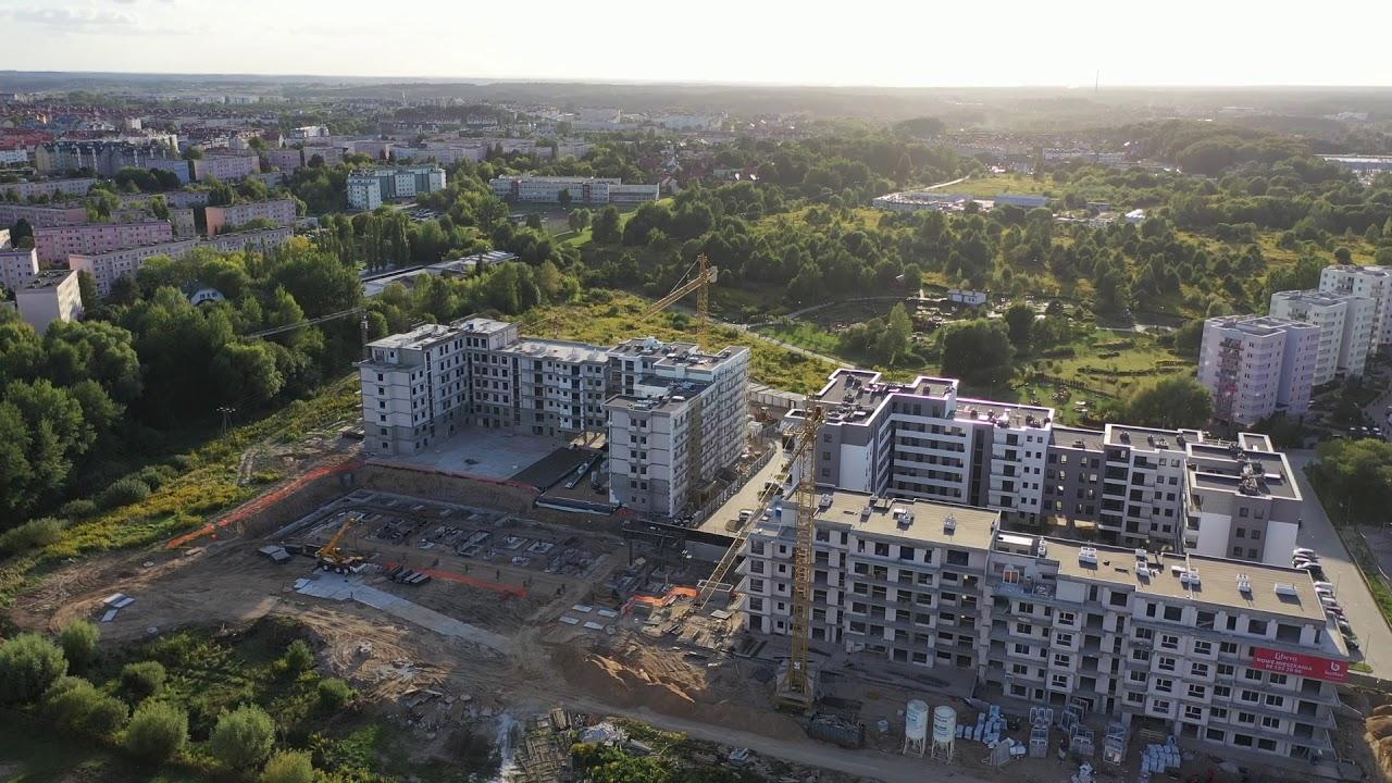 Nowe Osiedle Aurora Nagórki Olsztyn - widok całej inwestycji