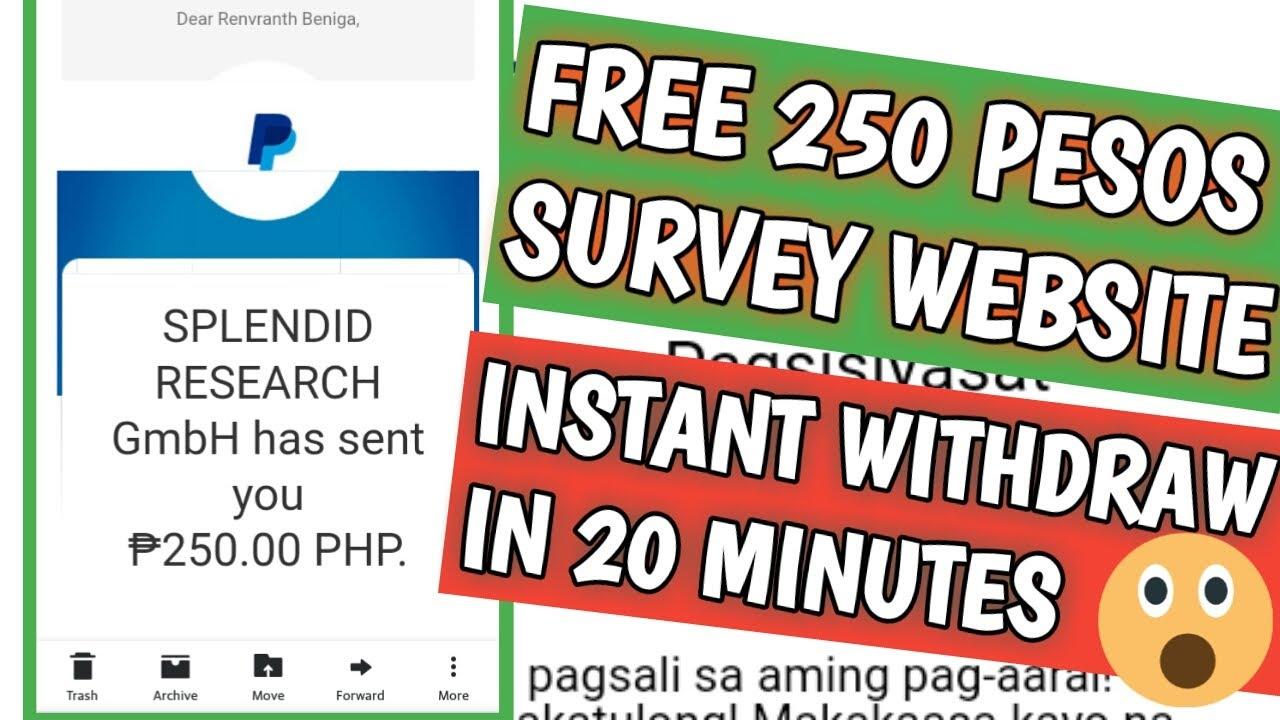 I received 250 pesos sa isang survey website || MOBROG PAYMENT PROOF