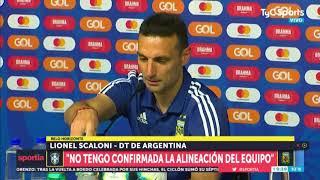 Scaloni, antes de Brasil-Argentina: