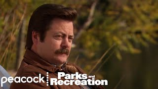 "Ron Tells Leslie ""Never Half-Ass Two Things"" - Parks and Recreation"