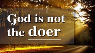 Dios no es el hacedor