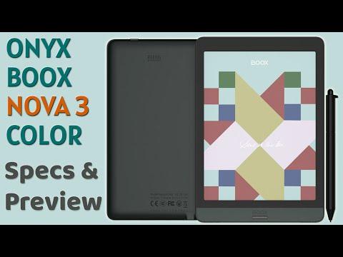 Onyx Boox Nova 3 Color Specs & Preview