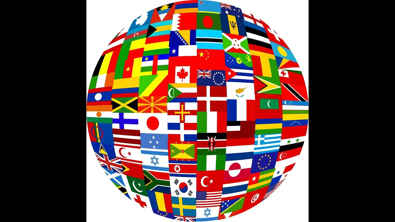 Flags of All Countries of the World with Names 2nd part music by