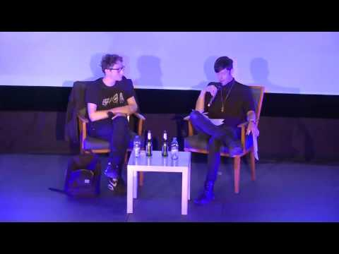 "Pop-Kultur 2016 ""Horror, Noise & Reproduction"" with Ryan Mahan (Algiers) & Josh Hall"