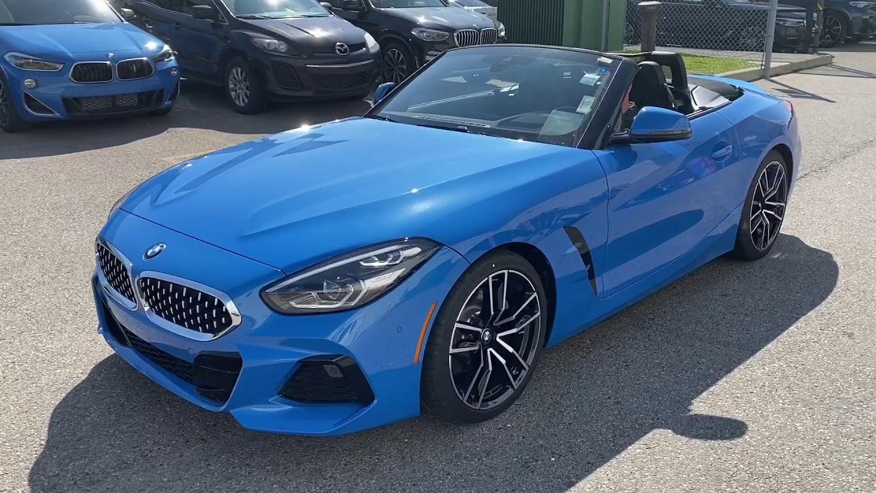 2020 BMW Z4 30i Misano Blue