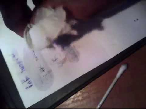 How To Remove Ball Pen Ink Youtube