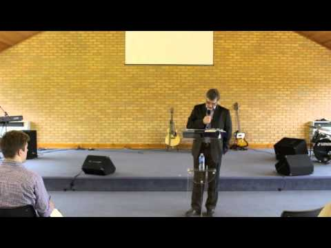 """Robin Routledge - 05.03.14 - """"Leadership Lessons From Gideon"""""""