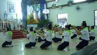 GX Bà Điểm - Dâng hoa 5/2014 - Rộn ràng mùa hoa