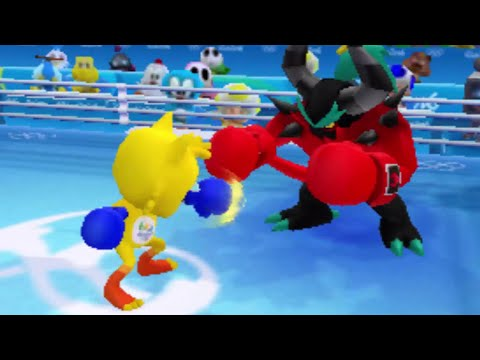 Mario and Sonic at the Rio 2016 Olympic Games - Unlocking All Characters (3DS)