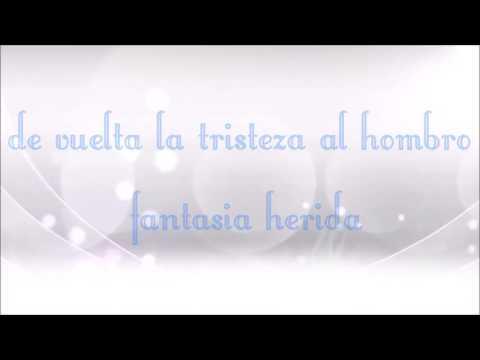 Erick Franchesky  - Fantasia Herida - Letra