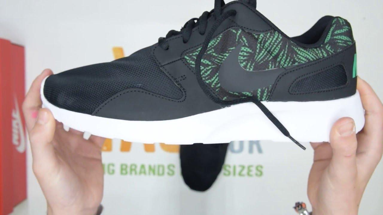 930a07d2b6d Nike Kaishi Print - Black   Green - Walktall