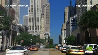 Сравнение сигналов SD и HD