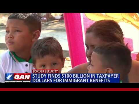 Study Finds $100B In Taxpayer Money Is Used For Immigrant Benefits